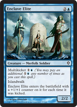 Enclave Elite | Magic: The Gathering Card