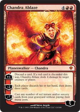 Chandra Ablaze | Magic: The Gathering Card
