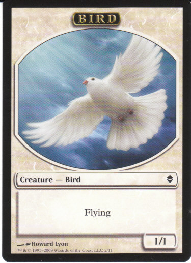 Bird Token | Magic: The Gathering Card
