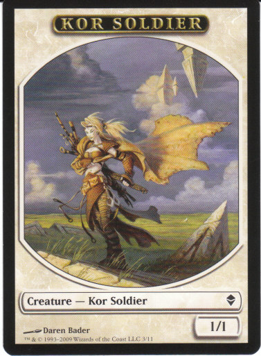 Kor Soldier Token | Magic: The Gathering Card