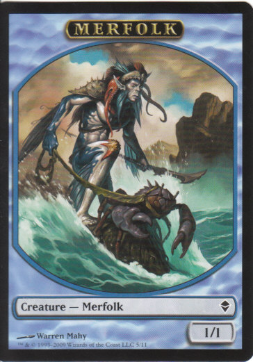 Merfolk Token | Magic: The Gathering Card